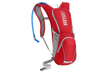 Camelbak Ratchet Hydration Backpack 3L Red Silver