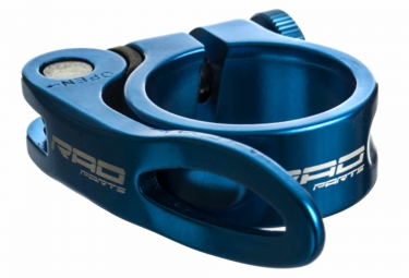 Collier de Selle Serrage Rapide Rad Parts Bleu