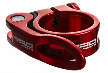 Collier de Selle Serrage Rapide Rad Parts Rouge