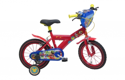 velo enfant denver mickey 14 rouge