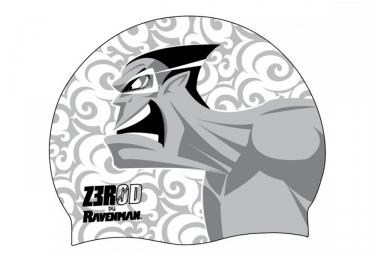 Bonnet de Bain Z3ROD RAVENMAN Blanc Gris