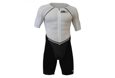 Combinaison Triathlon Z3ROD IRONMEN TT SUIT Noir Blanc