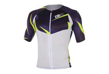 Z3ROD TT SINGLET NEON White Blue