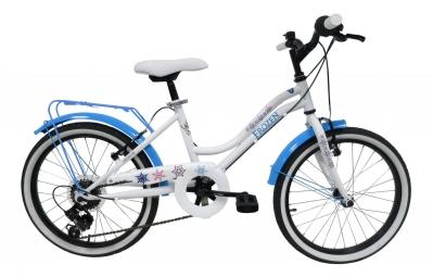 Vélo Enfant Denver  Reine des Neiges 20'' Blanc