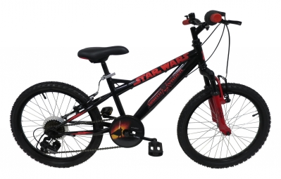 vtt semi rigide enfant denver star wars 20 noir