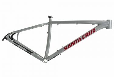 cadre rigide santa cruz highball alu 29 gris rouge m 166 178 cm