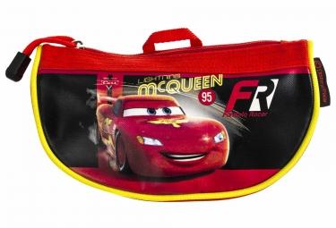 sacoche de guidon enfant gnk cars noir rouge