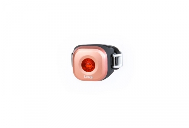 Lampe arriere knog blinder mini dot rose