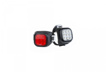 Knog Blinder Mini Niner Light Set Black