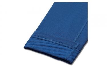 collant long de compression homme nike pro warm bleu s