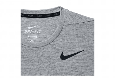 maillot homme nike dri fit dry gris homme m
