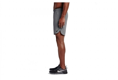 Short Homme NIKE FLEX REPEL TRAINING 20,5cm Gris