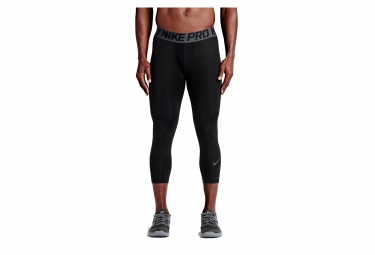 Collant 3/4 Compression Homme NIKE PRO HYPERCOOL Noir
