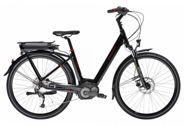 Peugeot EC 01 D9 Electric City Bike 300wh Shimano Alivio 9S Black 2017