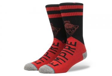 Paire de chaussettes stance varsity empire rouge noir 43 46