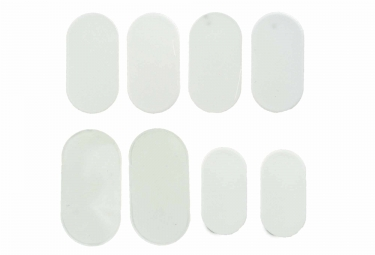 protection cadre lizard skins patch kit transparent