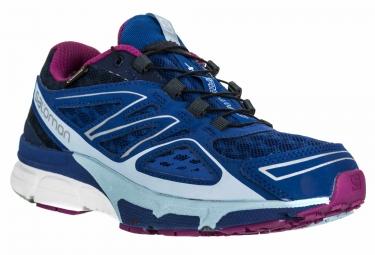 Chaussures femme salomon x scream 3d gtx bleu violet 40