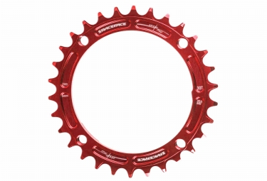 race face mono plateau narrow wide 104mm rouge taraude 30