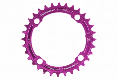 race face mono plateau single narrow wide 104 mm violet 36