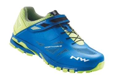 Zapatillas Mtb Northwave Spider 2 Azul Amarillo 47