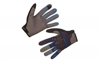 Endura MT500 II Long Gloves Black Blue