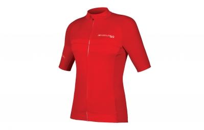 maillot manches courtes endura pro sl rouge m
