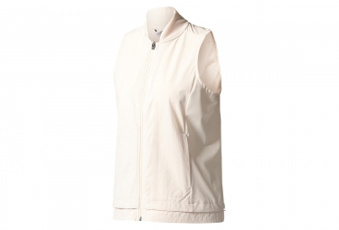 adidas running veste coupe vent impermeable femme ultra energy beige xs