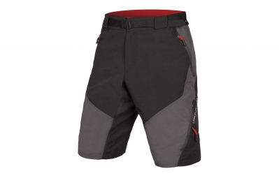 Endura Hummvee II Short with Liner Black Grey