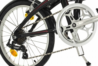 Vélo Pliant Tern Link B7  - 20'' Shimano Altus 7V Noir / Rouge 2016