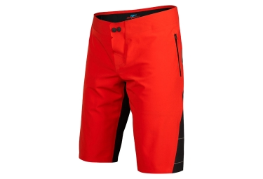short impermeable fox downpour rouge noir 34