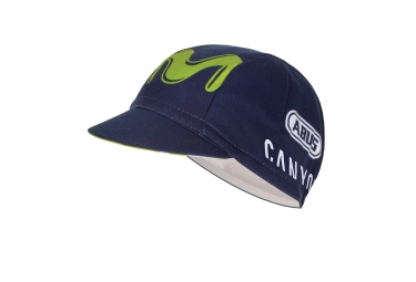 Casquette endura movistar team bleu