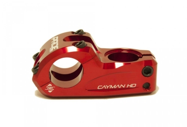 Pride Racing Cayman HD 31.8mm Diámetro del manillar Stem Red