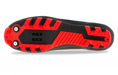 chaussures vtt spiuk altube m noir rouge 40