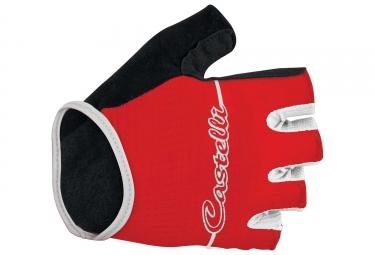 Paire de gants femme castelli dolcissima rouge s