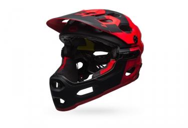 casque bell super 3r mips 2017 noir rouge s 52 56 cm