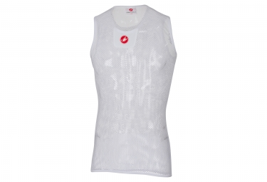 CASTELLI CORE MESH Sleeveless Base Layer White