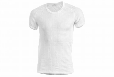 maillot manches courtes biotex micro net blanc s
