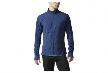 veste thermique adidas running supernova storm bleu l