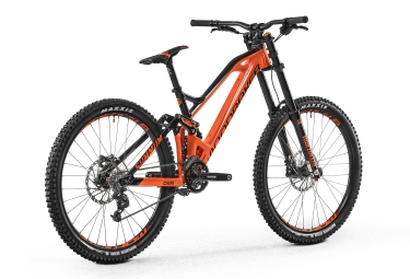 vtt de descente mondraker 2017 summum sram x7 9v orange noir m 167 178 cm