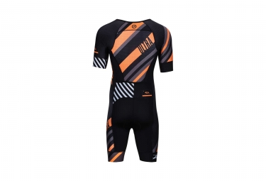 combinaison trifonction zoot ultra tri aero skinsuit noir orange gris xl