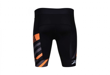 Short de Triathlon ZOOT ULTRA TRI 9´´ Noir Orange Gris