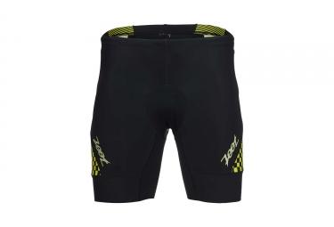 short de triathlon zoot performance tri 7 noir jaune xl