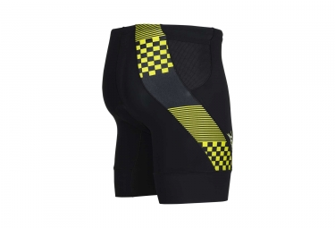 Short de Triathlon ZOOT PERFORMANCE TRI 7´´ Noir Jaune