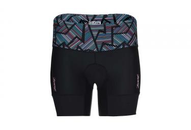 Short de triathlon femme zoot performance tri 6 noir multi couleur xs