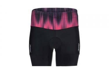 Short de Triathlon Femme ZOOT PERFORMANCE TRI 6´´ Noir Rose