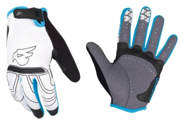 Gants Longs BLUEGRASS LYNX Blanc Bleu
