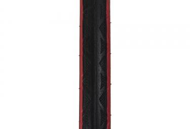pneu route hutchinson intensive 2 hardskin tringle souple noir rouge 23 mm