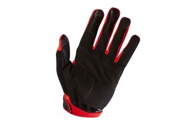 gants longs fox ranger gel rouge noir xxl