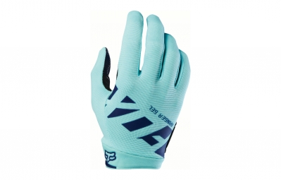 gants longs fox ranger gel bleu s