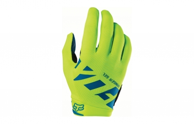 gants longs fox ranger gel jaune m